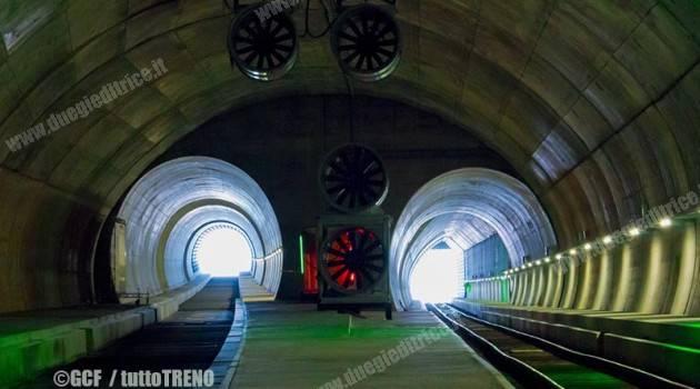 GCF termina l'armamento ferroviario della canna est alla galleria del Ceneri