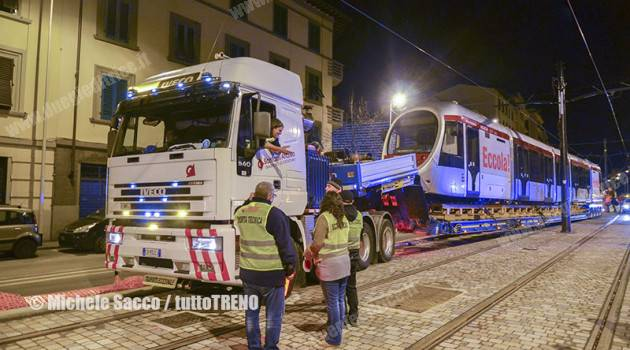 Firenze: primo tram per la linea T3