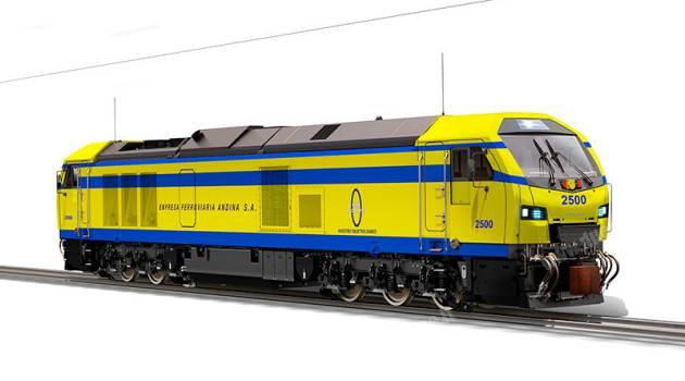 Stadler primo produttore europeo a vendere locomotive in Bolivia