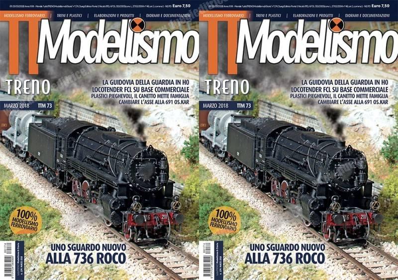 In edicola tuttoTRENO e Modellismo n° 73 – marzo 2018