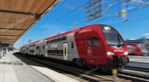 Svezia, 8 treni KISS Stadler per Uppsala