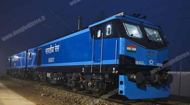 Alstom, pronta la prima locomotiva 100% elettrica per le ferrovie indiane
