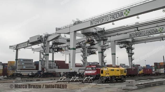 Interporto Padova: inaugurate quattro gru
