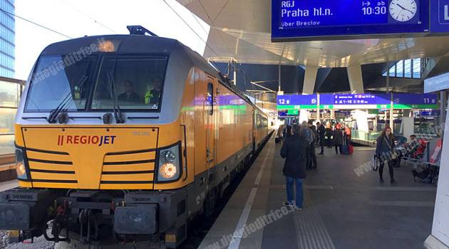 Vienna–Brno–Praga, RegioJet conquista i viaggiatori