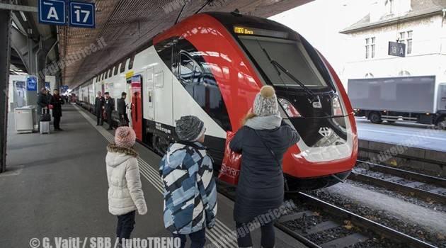SBB: nuovo treno bipiano
