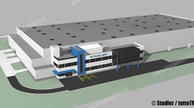 Stadler, il centro per la revisione dei carrelli raddoppierà la capacità
