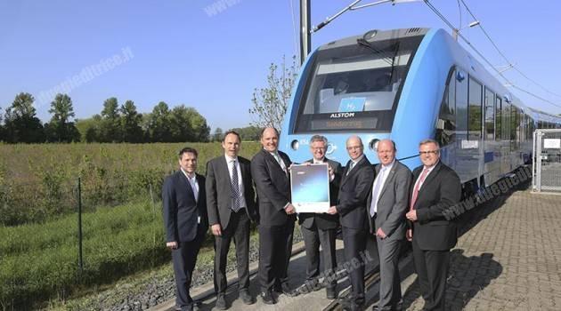 Coradia iLint di Alstom vince il premio GreenTec Award