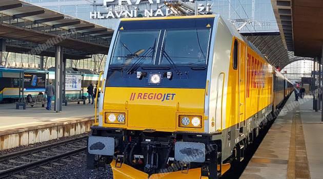 RegioJet, in servizio le TRAXX MS2
