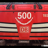 Siemens, la 193 331 è la 500esima Vectron