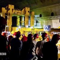 GCF: blocchetti d'oro per la fine dei lavori alla Galleria di Base del Ceneri