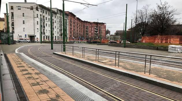WEGH Group, completato il nuovo capolinea tramviario di Certosa a Milano
