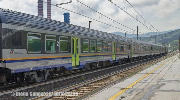 Treni Regionali in nuova livrea DTR