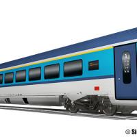 Ferrovie Ceche, ordinate 50 nuove carrozze Viaggio Comfort