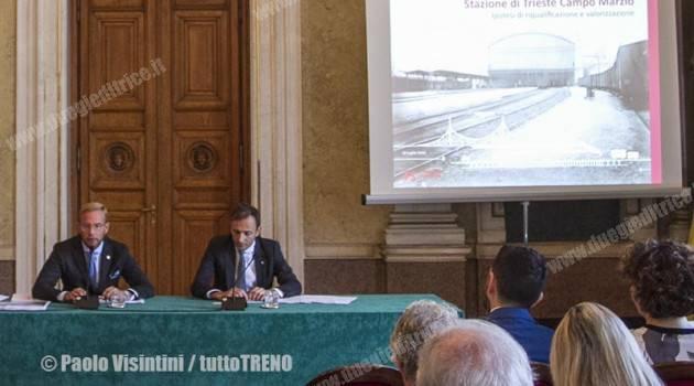 FONDAZIONE FS E REGIONE FVG PRESENTANO IL PROGRAMMA DEI TRENI STORICI 2018 E IL RECUPERO DEL MUSEO DI TRIESTE CAMPO MARZIO