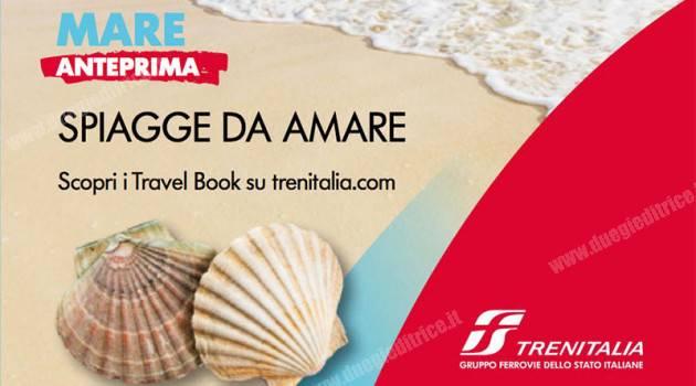 Trenitalia, raggiungere in treno oltre 60 spiagge italiane