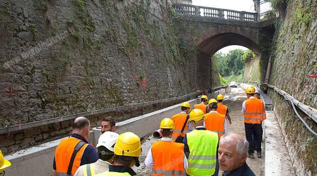 Elettrificazione Conegliano–Vittorio Veneto, visita ai cantieri