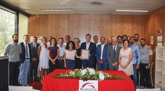 SGS: Merit Award a TX Logistik Italia