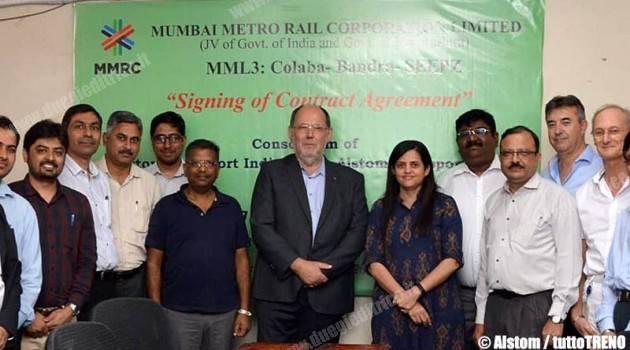 Alstom, contratto per la linea 3 della metro di Mumbai