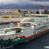Bluferries, consegnata la nuova nave Trinacria