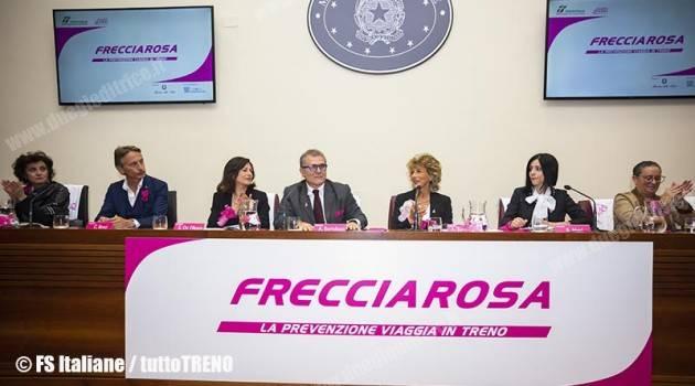FRECCIAROSA 2018: LA PREVENZIONE VIAGGIA IN TRENO