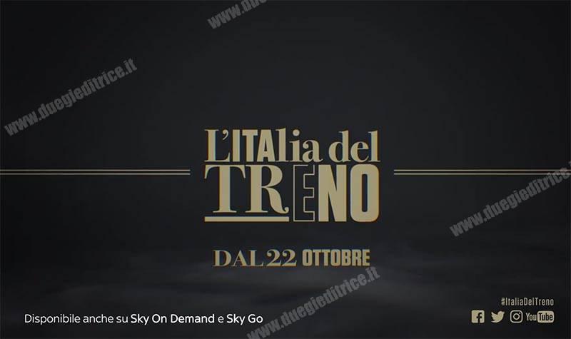 """Fondazione FS e History (Sky) presentano """"L'Italia in Treno"""""""