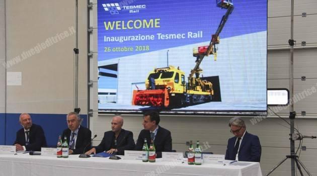 Tesmec SpA: al via il nuovo stabilimento produttivo di Monopoli