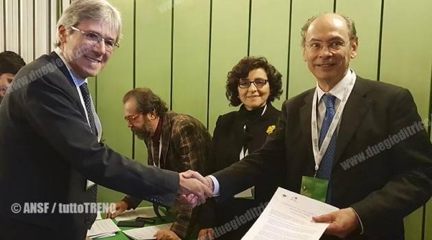 ANSF, firmata a Firenze la Dichiarazione sulla cultura europea della sicurezza ferroviaria
