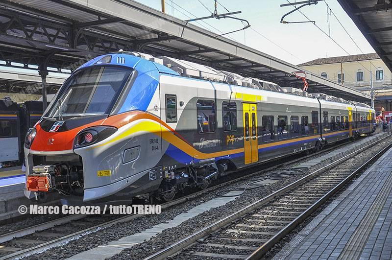 Emilia Romagna: consegnati tutti gli 86 treni Pop e Rock previsti
