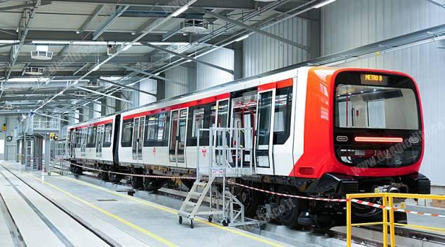 Consegnato il primo treno Alstom per la Metro B di Lione