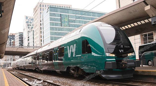 Norvegia, Stadler si occuperà della manutenzione dei 100 FLIRT Vy