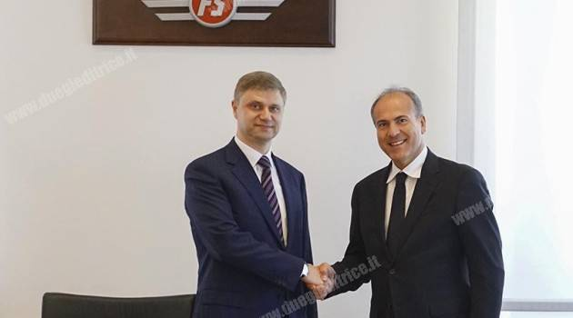 Si rafforzano i rapporti tra RZD e FS Italiane