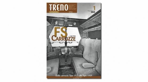 In edicola tuttoTRENO – Fascicolo Carrozze FS n°1