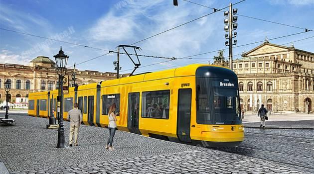 Bombardier, contratto per 30 tram FLEXITY per Dresda