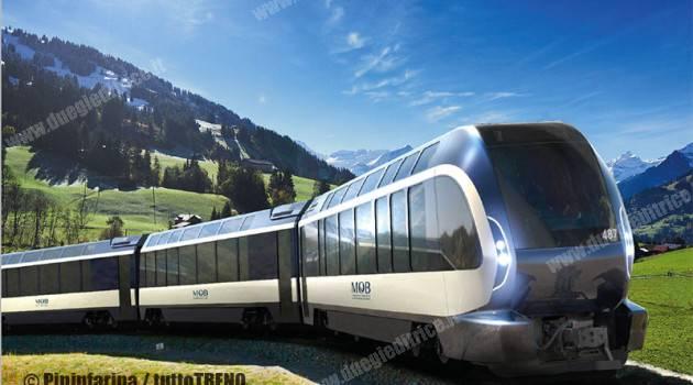 MOB: il treno delle meraviglie firmato Pininfarina