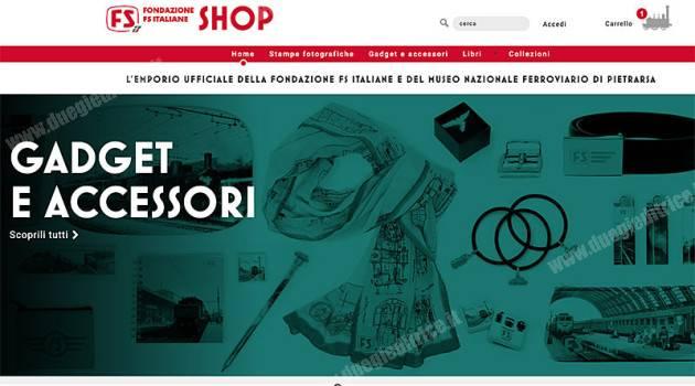 Operativo il nuovo shop online di Fondazione FS