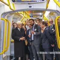 Hitachi: Mattarella visita la metro di Copenhagen