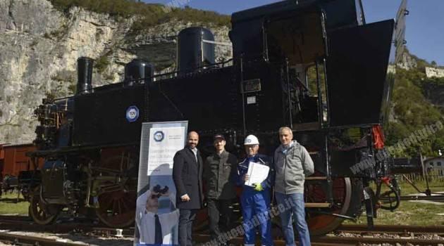 SVF: caldaia della 880 001 certificata dal TÜV