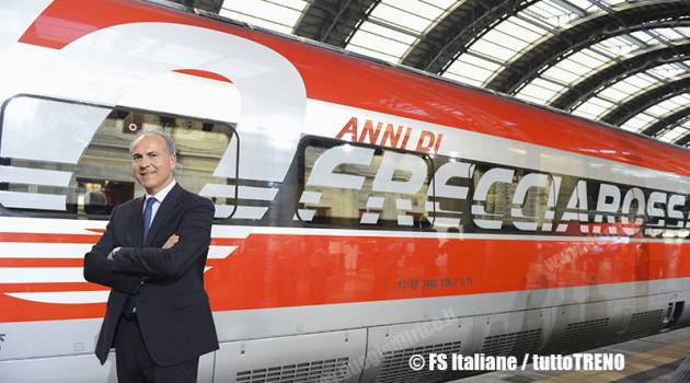 Trenitalia in AV spagnola