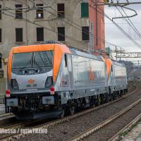 E 494 TRAXX DC3 per Dinazzano Po