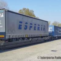 Intermodale multicliente Padova–Bari–Catania