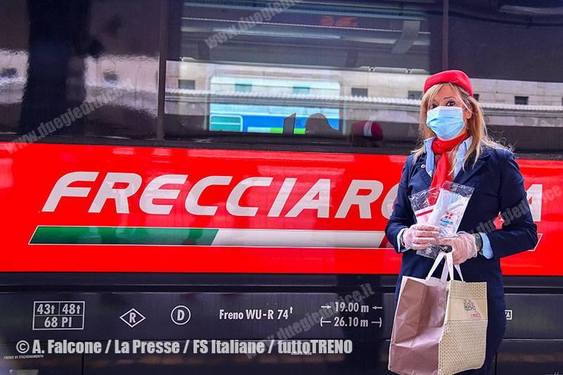 Trenitalia-Frecce-safetykit-2020-05-18-FotoFSItaliane_tuttoTRENO_wwwduegieditriceit