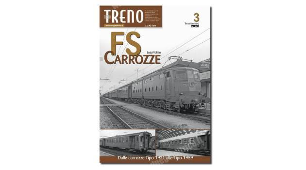 In edicola tuttoTRENO – Fascicolo Carrozze FS n° 3