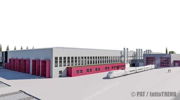 Trentino Trasporti: firmato il contratto per la nuova officina dei treni