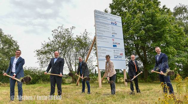 Germania: stazione per idrogeno per gli ILint di LNVG