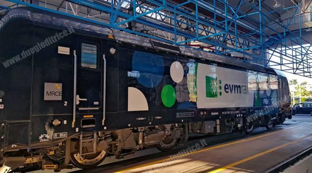 Vectron E 191 021 di MRCE per EVM RAIL