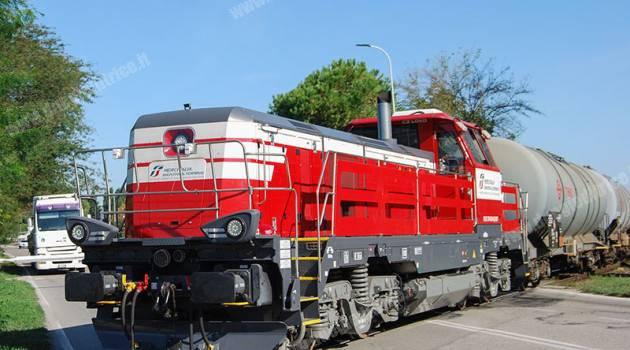 Manovre a La Spezia per il raggruppamento MIST e La Spezia Shunting Railways