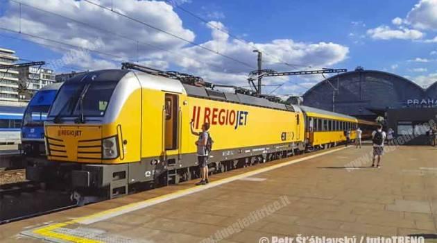 Treni notte RegioJet da Praga a Fiume