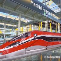 Trenitalia firma il contratto con Hitachi/Bombardier per 23 Frecciarossa 1000 versione Spagna