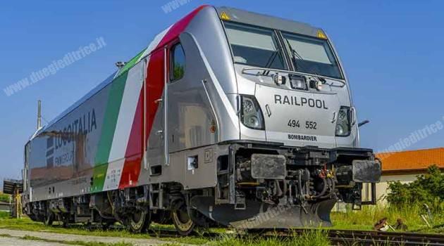 Nuova livrea per la E 494 552 TRAXX DC3 Locoitalia/Railpool