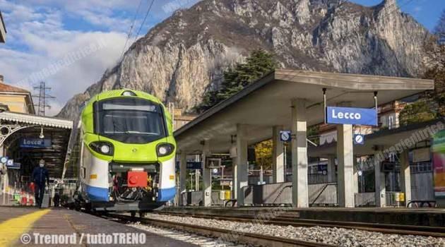 Donizetti in servizio tra Lecco, Chiavenna e Sondrio